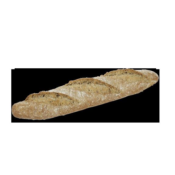 Baguette céréales précuite au four à pierre - Menissez
