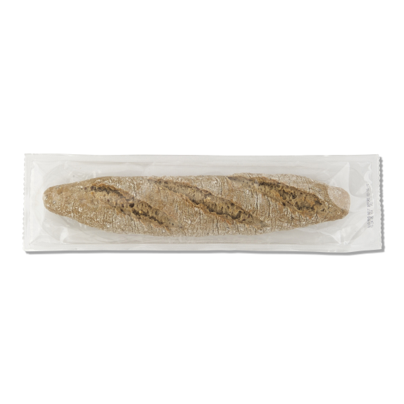 Stone oven part-baked multigrain baguette - Menissez