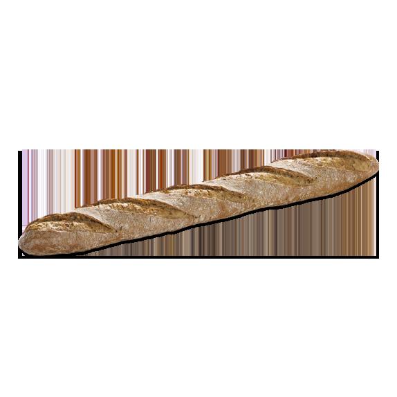 Flûte céréales précuite au four à pierre - Menissez