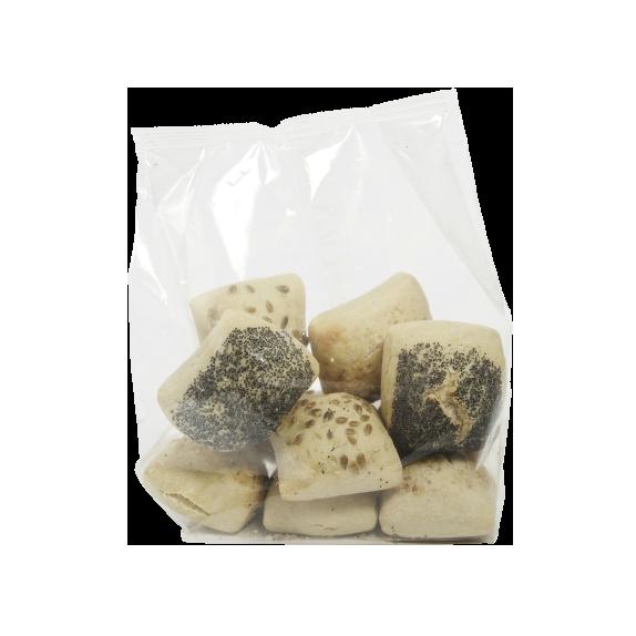Petit pain grainé précuit au four à pierre – Topping x8 - Menissez