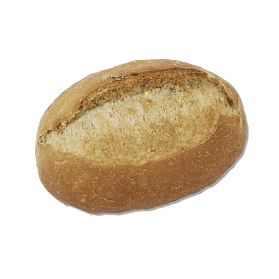 Part-baked multigrain roll x6 - Menissez