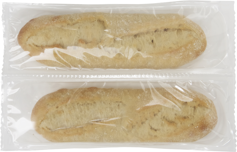 Halbe Baguette x2, im Steinofen vorgebacken - Menissez
